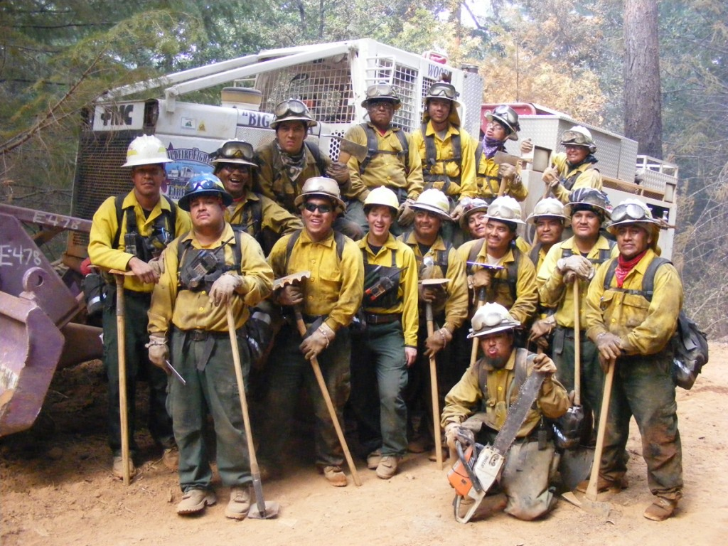 Obadiah's Wildland Firefighters, 2008.